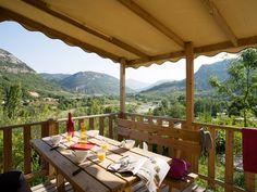 #Camping Yelloh! village les Ramières 4* à #Sahune dans la #Drôme.