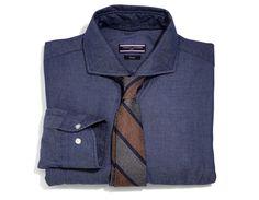 Love the tie - Billy Reid cotton