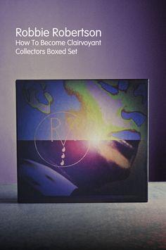 Robbie Robertson - Collectors Boxed Set promo materials by David Jordan Williams, via Behance
