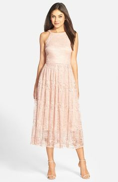 Tea length or midi length dresses for weddings the bride for Midi length wedding dress