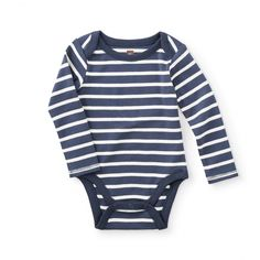Striped Bodysuit | Classic stripes give this bodysuit a little sporty style.