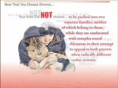 "The Effects of Divorce On Children - WATCH VIDEO HERE -> http://bestdivorce.solutions/the-effects-of-divorce-on-children-2   	 SAVE YOUR MARRIAGE STARTING TODAY (Click Here)   – Opening eye video for couples considering divorce titled ""Now that you choose divorce … Here are the 12 pains your kids did NOT choose"" From the book ""between two Worlds ""Elizabeth Marquardt, Director of the..."
