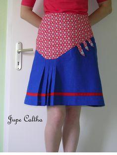 """CALTHA Patron de couture Etoffe Malicieuse issu du livre """"couture pour femmes"""" (créapassions)"""