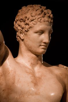 measure for all male beauty: Hermes // Praxiteles, Ancient Olympia, Greece