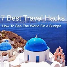 7 Great Travel Hacks ~ How To Travel The World On A Shoestring Budget  International travel is not always as expensive as you think. Read our 7 Travel hacks blogpost and learn how to take amazing overseas trips at a fraction of the cost! http://corinnabsworld.blogspot.com/2015/04/7-great-travel-hacks-how-to-travel.html #InternationalTravel