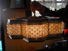 Espectacular Làmpara Retro Vintage Colgante - $ 1.700,00 en MercadoLibre