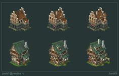 Buildings for game. Part 3 by Jonik9i on deviantART