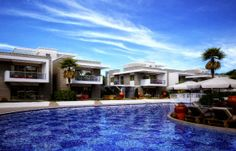 Luxury Zen Apartments in Side Antalya For Sale Contemporary Design