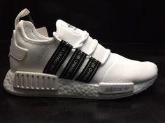 2018 auténtica Adidas NMD XR2 PK bb9478 negro noir blanco blanc negro