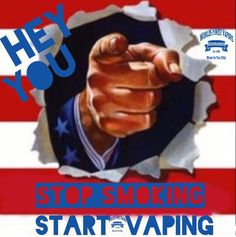 HEY YOU!! DECLARE YOUR INDEPENDENCE FROM TOBACCO!  WE CAN HELP!  SET YOURSELF… Vapor Cigarettes, Electronic Cigarettes, Marlboro Red, Stop Smoke, Vape Shop, Vape Juice, Hey You, Set You Free, Vaping