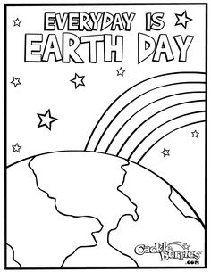 Earth Day Coloring Pages Printables