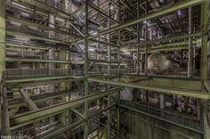 Vacant Industrial Power Plant