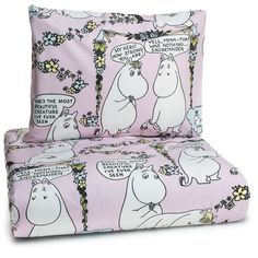 Moomin duvet cover 150 x 210 cm by Finlayson - The Official Moomin Shop  - 2