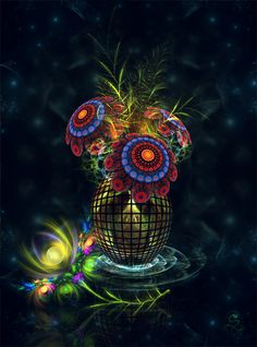 Pictures: 85 Beautiful Fractal Flowers Art | Amazing, Funny, Beautiful, Nature, Travel and much more...