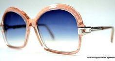 2b367badc06 True 70s Vtg Cazal Mod 108 Sunglasses Oldschool Rose W.ger Sm Old School