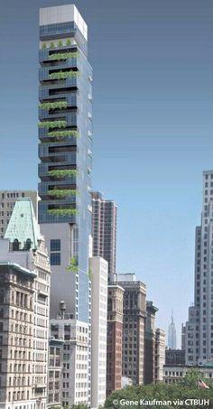 265 Broadway - New York, New York - The Skyscraper Center #greenarquitecture
