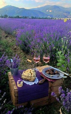 In love with lavender and wine - one can only dream #luxurydotcom