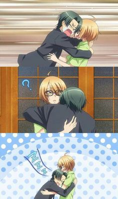Love Stage!! ~~ Poor Rei. The stress is going to kill him. Quick, somebody call Shougo!!!
