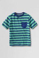 boys green stripe tee-boy husky short sleeve stripe super tee