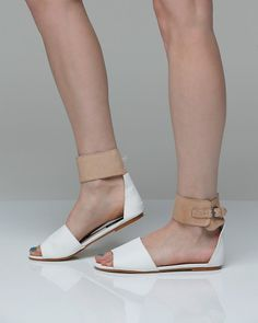 I saw shoes like this at Anthropologie in Chicago. I want some! Any ideas on where they might be cheaper?
