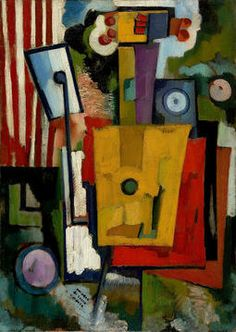 the-life-of-instruments Amadeo de Souza-Cardoso , born in Manhufe, parish Mancelos, Amarante, 14 Sculpture Art, Sculptures, Modernisme, Georges Braque, Art Database, Pictures To Paint, Paint Designs, Les Oeuvres, Modern Art