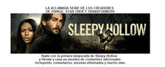 La primera temporada de la serie Sleepy Hollow, ya disponible para el formato doméstico