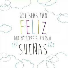 Que seas tan feliz ༺✿Teresa Restegui http://www.pinterest.com/teretegui/✿༻                                                                                                                                                      Más