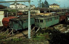 Electric Locomotive, Bahn, Trains, Album, Explore, Photos, Photography, Train Tracks, Pictures