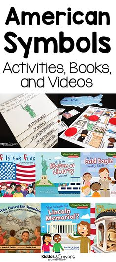 American Symbols Activities, Books, and Videos for Social Studies Lessons