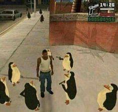 Club Penguin -Please check the website for more funny memes Memes Estúpidos, Stupid Memes, Funny Memes, Hilarious, Jokes, Club Penguin Memes, Funny Penguin, Reaction Pictures, Funny Pictures