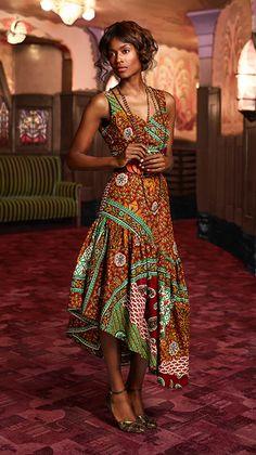 Zanzea Vestidos Summer Fashion Women Dress Ladies Striped Off Shoulder Side Split Loose Irregular Long Maxi Dress Plus Sizes African Inspired Fashion, African Dresses For Women, African Print Dresses, African Print Fashion, Africa Fashion, African Attire, African Wear, African Fashion Dresses, Ethnic Fashion