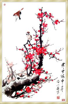 钟卫 - Google+ Chinese Painting Flowers, Cute Pictures, Cool Photos, Chinese Wallpaper, Comic Books Art, Book Art, China Art, Japan Art, Mini Tattoos