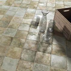 EliteTile Royalty Monolith x Ceramic Field Tile Color: Green House Tiles, Wall Tiles, Commercial Kitchen, Stone Tiles, Vintage Industrial, Industrial Design, Tile Floor, Home Improvement, Flooring