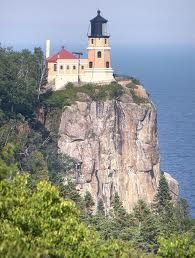 Split Rock Lighthouse, Minnesota! Second light I'd ever seen and the first famous one.