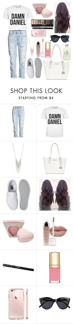 """Damn Daniel"" by fashionkat20 ❤ liked on Polyvore featuring H&M, Lane Bryant, MICHAEL Michael Kors, Vans, Dolce&Gabbana and Le Specs"