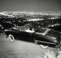 Mulholland Drive, Los Angeles, 1950s