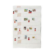 'Muslin Tea Towel - Guggenheim' from the web at 'https://i.pinimg.com/236x/1a/ae/b1/1aaeb1c4da5d3a8f08e332f12924a38d--tea-towels.jpg'