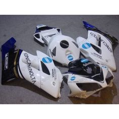 Honda CBR1000RR 2004-2005 Injection ABS Fairing - Konica Minolta - White | $639.00