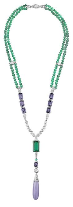 Chaumet necklace.    Via The Jewellery Editor.