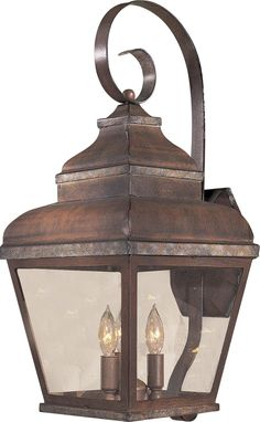 """Mossoro Collection 22 3/4"""" High Outdoor Wall Light -"""