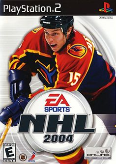 NHL 2004 (Sony PlayStation for sale online Nhl Games, Hockey Games, Xbox Games, Ice Hockey, Final Fantasy X, Playstation 2, Nhl All Star Game, Used Video Games, Gamecube Games