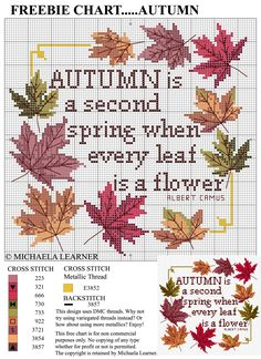 saved   Follow me on Facebook for more charts weekly.... http://www.facebook.com/pages/Cross-Stitching-Guild/505181406163813
