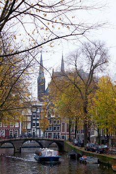 November 2013 Fall - Amsterdam, Grachten