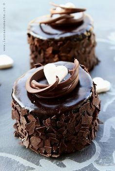 Delicious dark chocolate treats! looks so yummy  and good  and good