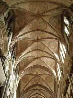 Groin Vaulted ceiling