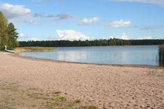 The Virvik beach in Porvoo, Finland.
