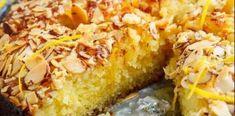 Κέικ Αμυγδάλου με σιρόπι λεμονιού Macaroni And Cheese, Ethnic Recipes, Food, Mac And Cheese, Essen, Meals, Yemek, Eten