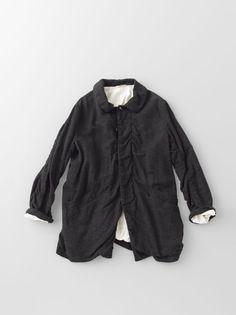 Arts & Science | Puckering Coat | cotton + linen | Daikanyama, Tokyo, Japan | a/w 2013