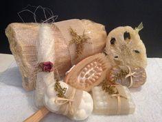 Cepillos terapéuticos, zacates naturales exfoliantes y #jabonesartesanales para un #spa en tu casa
