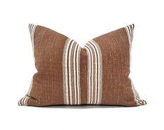 Myhavenhome Linen Pillows, Boho Pillows, Throw Pillows, Weaving Textiles, Vintage Textiles, Handmade Pillows, Natural Linen, Pillow Covers, Living Room